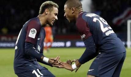 Neymar ha hecho buena dupla con Mbappé. Foto:EFE