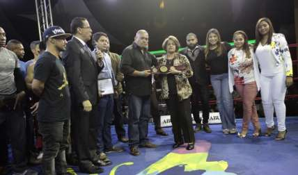 En la función se hizo un homenaje póstumo a Félix Piñango. Fotos: Anayansi Gamez