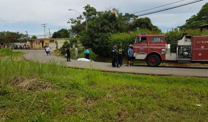 Vista del lugar del accidente en Cerro Tigre.  /  Roto: Raimundo Rivera