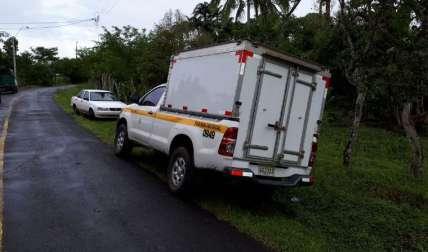 En este lugar fue hallado el cuerpo la semana pasada. Las autoridades realizan las investigaciones.