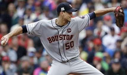 El derecho Charlie Morton abrirá por los Astros. Foto: AP