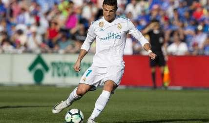 Cristiano Ronaldo viene de marcar su primer gol en la Liga española. Foto: EFE