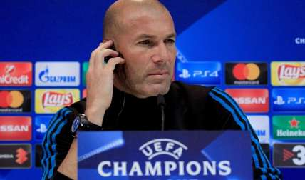 Zinedine Zidane, técnico del Real Madrid/ EFE