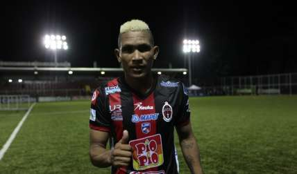 Ronaldo Dinolis lleva nueve goles en el Apertura. Foto:Anayansi Gamez