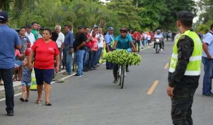 La carretera, que fue inaugurada hoy, beneficiará a más de 25 mil personas.