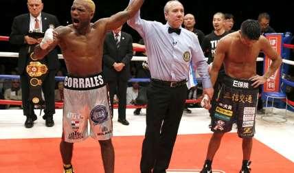Corrales ganó su título al vencer al japonés Uchiyama en abril de 2016/ AP