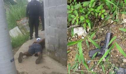 El aprehendido será procesado mediante el Sistema Penal Acusatorio. / Foto: @protegeryservir