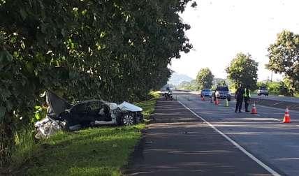 El fin de semana se registró un accidente fatal en la vía.