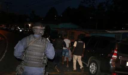 Sujetos capturados en operativos. Foto Cortesía