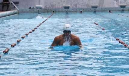 El tritón istmeño Edgar Crespo estará compitiendo hoy en la prueba de los 100 metros pecho. Foto: Grupo Epasa