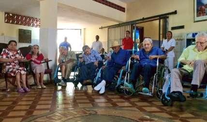 En el Hogar Leonístico para Ancianos de Azuero hay albergados unos 40 adultos mayores. Thays Domínguez