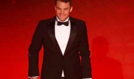 Recientemente, Neuer estuvo en una premiación en Alemania. Foto: AP