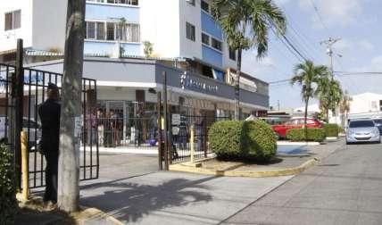 Vista general de la parte externa de la sucursal de Banco General asaltada en febrero de 2017. Foto: Edwards Santos Archivo