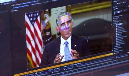 Esta tecnología utiliza mapas faciales e inteligencia artificial para producir videos que parecen tan genuinos que es difícil detectar los phonies. Foto: AP