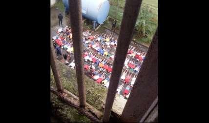 Después de la balacera, autoridades iniciaron una requisa dentro del penal de Colón. Foto: Diómedes Sánchez