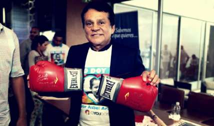 Roberto Durán, gloria del boxeo. Foto: AP