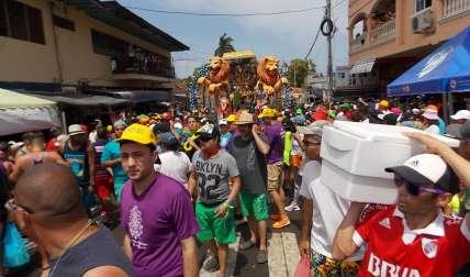 Los Carnavales es una de las fiestas favoritas por los panameños.
