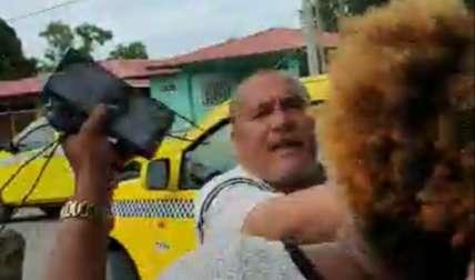 Al taxista se le había decretado la medida de detención provisional por 48 horas a manera de protección de la víctima. Foto: Redes Sociales