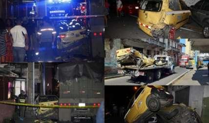 Los afectados esperan que la aseguradora del camión se haga responsable de todos los daños. Fotos: Alexander Santamaría/Edwards Santos Cruz