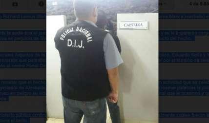 Sujeto fue llevado al centro penal Debora en Changuinola por agentes de la DIJ
