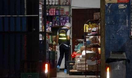 Vista general de la escena del asesinato. Foto: Alexander Santamaría