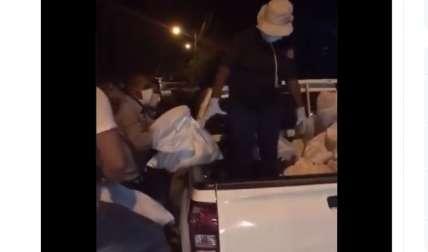 Panameños piden entrega de bono y comida; las denuncias llueven
