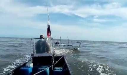 No se dio a conocer porque la embarcación quedó a la deriva.