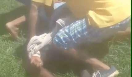 Agarran a un ladrón en Chiriquí y le dan una paliza por liso (Video)