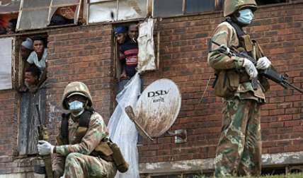 Cinco muertos en un ataque con toma de rehenes en una iglesia en Sudáfrica