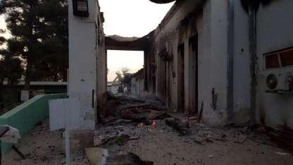Bombardeo a clínica afgana mata a 16 personas