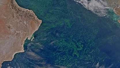 Vista aérea de la situación.  / Foto: Nasa