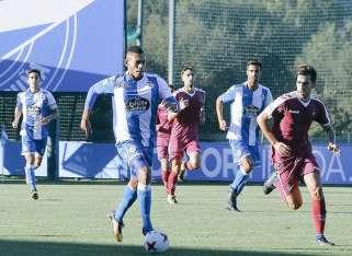 Ismael Díaz fue incorporado por el Deportivo en septiembre. Foto: Twitter