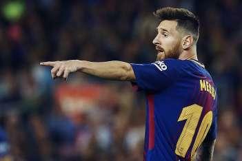 Leo Messi desveló en el 2012 cuál era su jugador favorito. Foto: EFE