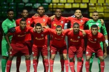 La Selección de futsal de Panamá que participará en los Juegos Bolivarianos. Foto: Fepafut