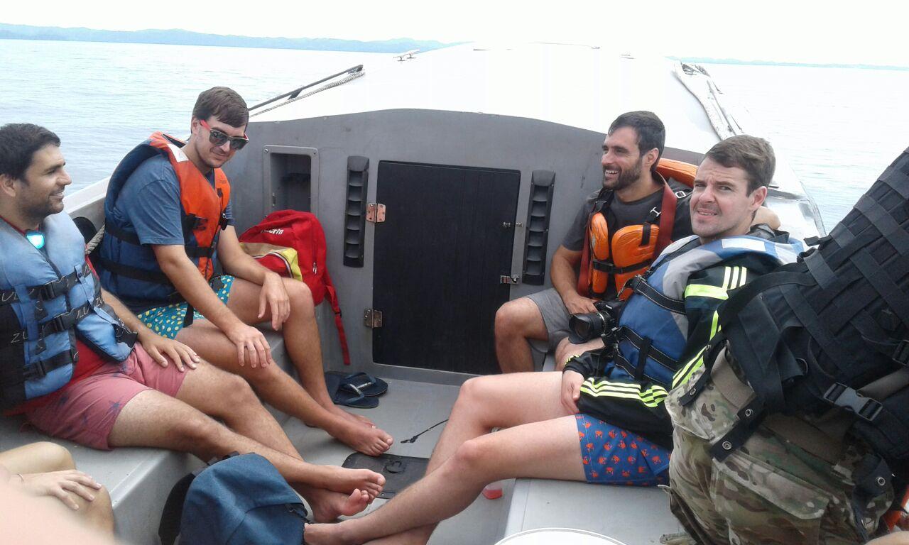 Senan ubica embarcación con 13 tripulantes desaparecida en el Parque Coiba